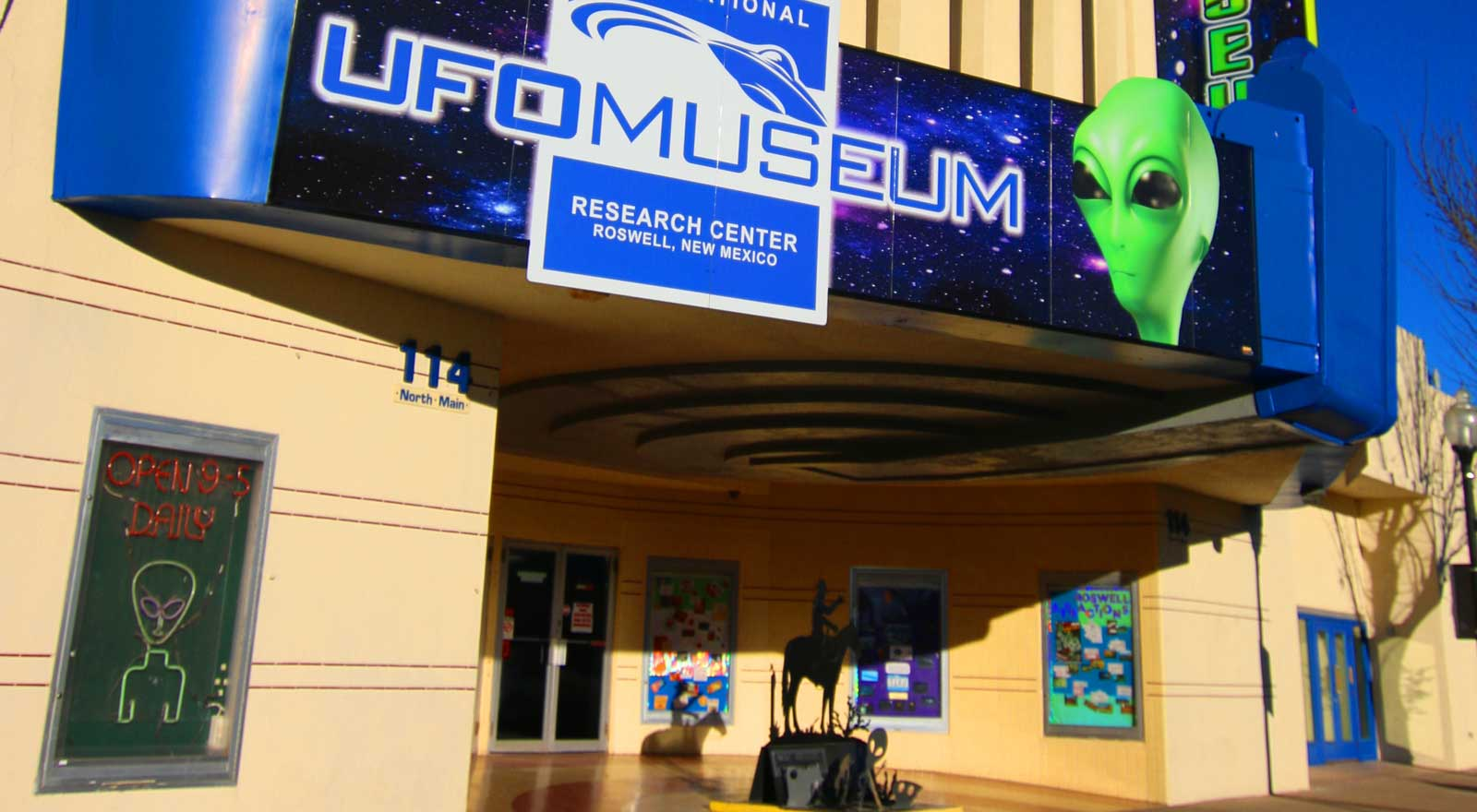 UFO Museum attracts 225,000 unique visitors annually